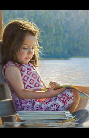 Reading Hard Books to Kids