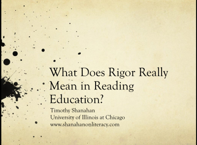 What is Rigorous Instruction?