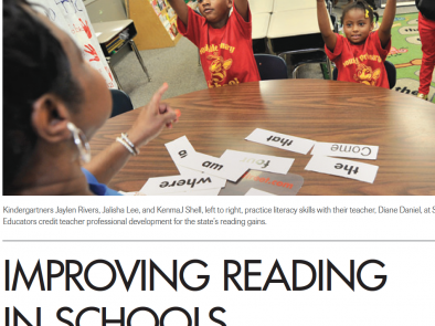Should 3rd grade be the pivot point for early reading?