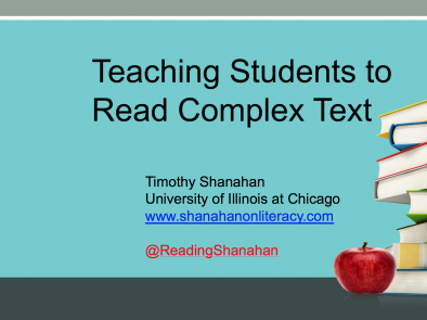 Teaching with Complex Text