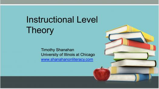 China: Instructional Level Theory
