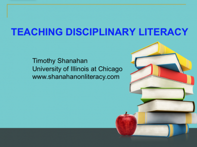 Secondary Disciplinary Literacy