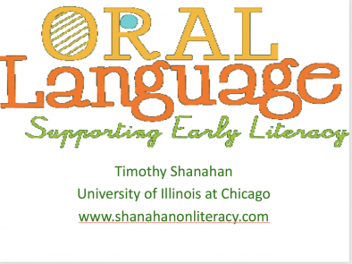 Oral Language and Reading