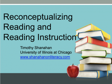 Reconceptualizing Reading Instruction