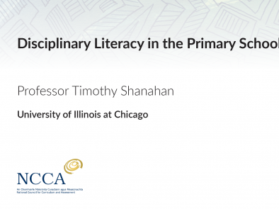 Disciplinary Literacy in the Primary School