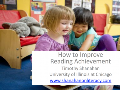 How to Improve Reading Achievement