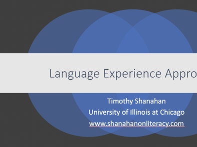 Language Experience Approach