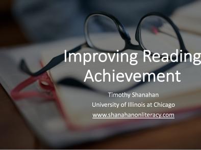 How to Improve Reading Achievement Part 2