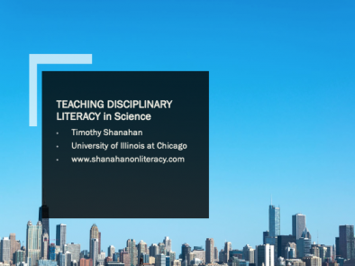 Disciplinary Literacy in Science