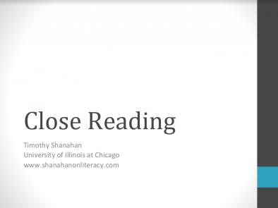 Close Reading